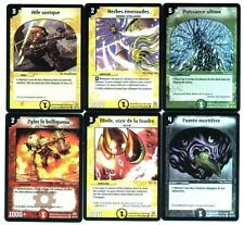 DUEL MASTERS 6 Cartes Neuves Lot N° DM 16