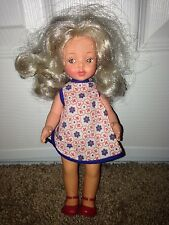 "Vintage Furga 9"" Doll Made In Italy Platinum Blonde Orginial Clothes"