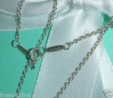 "TIFFANY & CO. 925 16"" DESIGNER ELSA PERETTI CHAIN! RETIRED! ESTATE! SILVER!"
