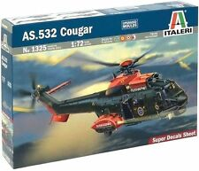 U.S.Dealer!  Italeri 1/72 Scale  AS.532 Cougar/ Super Puma Helicopter Model Kit