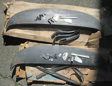 NOS 1967 Chevrolet Fender skirts pair all original with mounting hardware