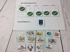 My School Reward Chart........Pecs Symbols And Chart Special Needs Autism