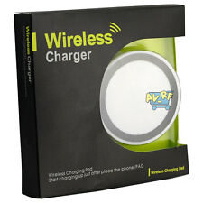 White Wireless Battery Charger Charging Pad for Samsung Galaxy S3/4/5 Note 2&3