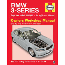 Haynes BMW Serie 3 320i 320d 330d SEP 2008-FEB 2012 MANUALE 5901 NUOVO