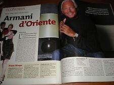 L'Espresso.Giorgio Armani,Giorgio Panariello,Dora Maar,Paola Saluzzi,iii