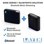 Bose SoundDock Series 1 Bluetooth Dock Adapter Music Receiver 12v - 5v Converter