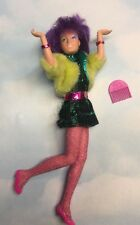 """Jem and the Holograms CLASH doll & Clothes 1986 Hasbro 12"""""""