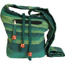 Nepal Sling Bag, múltiples bolsillos Bag, Bolso De Hombro, Boho Chic Hippy, Festival De Bolsa