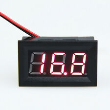 "0.56"" LCD DC 3.2-30V Red LED Panel Meter Digital Volt Voltmeter with Two-wire"