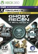 Tom Clancy's Ghost Recon Trilogy 2014 XBOX 360 VIDEO GAME With Case  NO ARTWORK