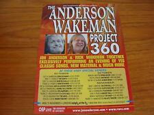Flyer: The Anderson Wakeman Project 360 Tour 2010