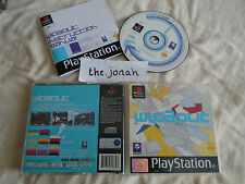 Wipeout 3 Wip3out PS1 (COMPLETE) PSOne rare high speed racing Sony PlayStation