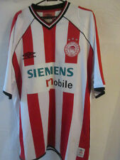 Olympiakos 2003-2004 Home Football Shirt Size XL /11164