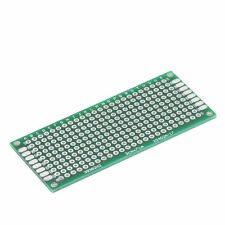 1X 3x7 cm 30mmx70mm Double Side Prototype PCB Tinned Universal Breadboard BBCA