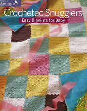 Crocheted Snugglers Easy Blankets for Baby Crochet Instruction Patterns 2013 NEW