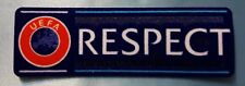 patch toppa scritta respect europa champions league nuova originale 2016 2017