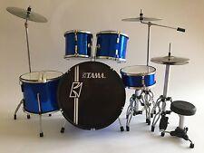 Miniature Drum Set TAMA STEWART COPELAND - THE POLICE  Musical Birthday Gift