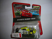 Disney Pixar CARS KMART SYNTHETIC RUBBER TIRES LEAK LESS #52 1:55 DIECAST NIP