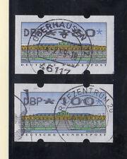 Alemania Etiquetas para maquinas Expendedoras año 1996 (CF-792)