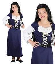 Childrens Kids Maid Marion Fancy Dress Costume Girls Childs Outfit Book Week XL