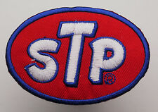 STP Motor Oil Race Sponsor Iron-On Embroidered Patch - MIX 'N' MATCH - #1H11