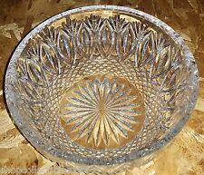 Waterford Crystal Gresham Large Centerpiece Crystal Clear Bowl (BRAND NEW)