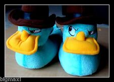 NEW Boys/Girls DISNEY Slippers PHINEAS & FERB Agent P Youth size 9/10 Free SHIP!