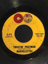 THE MARVELETTES-Twistin' Postman- I Want A Guy ~ Rare N. Soul 45 Record TAMLA