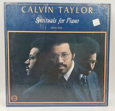 CALVIN TAYLOR Spirituals For Piano Opus One IN SHRINK! EX. LP GOSPEL LP