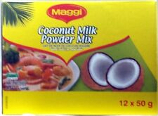 Maggi Coconut Milk Powder Mix  12 packs of 50 g each (600g total)
