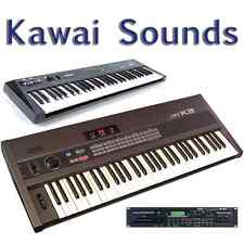 Kawai K1, K1m, K1r, K3, K3m, K4, K4r, K5, K5m, XD-5 - Largest Sound Collection