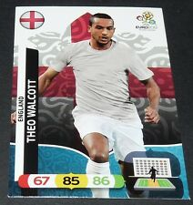 THEO WALCOTT ENGLAND ARSENAL FOOTBALL CARD PANINI UEFA EURO 2012