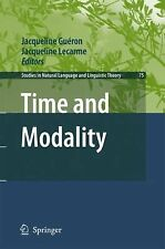 Time and Modality 75 (2008, Hardcover)