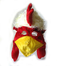 Giant Chicken Rooster Cock Funny Bird Animal Halloween Adult Costume Mask Hat