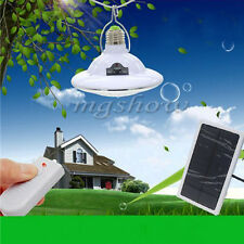 22 LED Solar Powered Yard Outdoor Hiking Tent Light Remote Control Camping Lamp