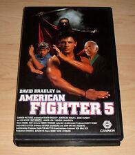 VHS - American Fighter 5 V - Cannon - Kampfsport - 1992 - Videokassette