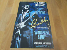 BUDDY HOLLY Story Starring Paul Elliott  VICTORIA Palace Theatre Poster