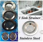 STAINLESS STEEL SINK STRAINER BATH STRAINER 6cm 7.5cm 7.8cm SINK STRAINER (NEW)