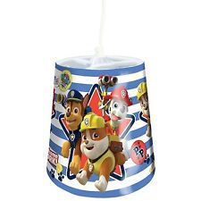 NEW PAW PATROL TAPERED CEILING LIGHT SHADE KIDS LIGHTING BEDROOM FREE P+P
