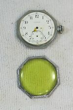 Antique Waltham Riverside Mdl. 1894 17J Octagon Open-Faced Pocket Watch C. 1897