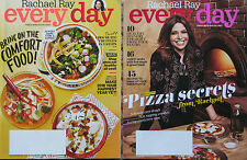Lot of 2 EveryDay with Rachael Ray® magazines:  January/February - March, 2016