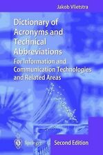 Dictionary of Acronyms and Technical Abbreviations : For Information and...