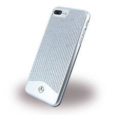 Mercedes-Benz Wave V Carbon Fiber Brushed Aluminum Hard Case for iPhone 7Plus SI