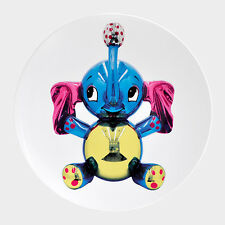 JEFF KOONS ELEPHANT COUPE PLATE : LIMITED EDITION : SIGNED + NUMBERED