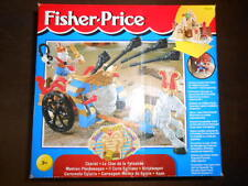VINTAGE FISHER PRICE EGYPTIAN SKELETON CHARIOT MATTEL Piramide