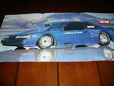 1989 FORD THUNDERBIRD MIKE COOK BONNEVILLE RACE CAR ***POSTER / ARTICLE***