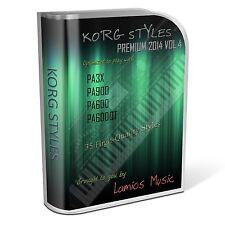 Korg Styles Premium 2014 Vol4 for Korg PA300 PA600/QT PA900 PA3X PA4X. 35 Styles