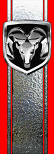 Chrome Ram Dodge Truck Decals Stripe Bed Band Vinyl Vehicle Graphics Stickers