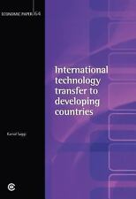 International Technology Transfer to Developing Countries: Economic Paper 64 (Ec