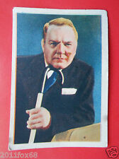 actors acteurs figurine cards nestle stars of the silver screen #88 w. c. fields